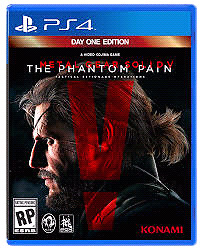 Metal Gear Solid 5 Phantom Pain (Ps4)