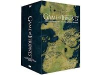 GAME OF THRONES BOX SETS 1 2 3 4