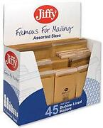 Assorted Jiffy Bags