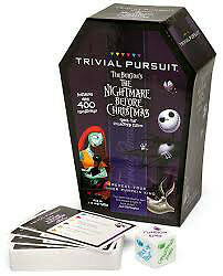 Nightmare Before Christmas Trivial Pursuit Game