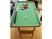 snooker table 6x3 feet
