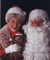 A VISIT WITH SANTA & MRS. CLAUS.    A SEASON OF SONGS