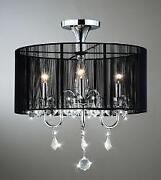 flush mount chandelier