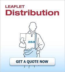 We can deliver leaflets