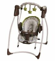 Graco dual swing and bouncer