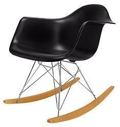 Vintage Modern Herman Miller Retro Eames RAR Shell Rocker Rocking Arm Chair