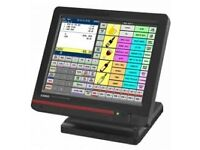 Casio QT-6600 Touch Screen Till, Printer, Barcode Reader & Cash Drawer.