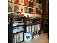 Wanted vinyl records pop- rock lp , turntables , amplifiers vintage hi - fi