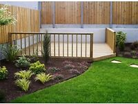 DECKING,WE SUPPLY,AND ERECT DECKING ,AND ASTRO TURF , FAKE LAWN FITTED BY TRADESMEN