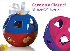 NEW Tupperware Shape O Toy