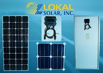 175 watt solar panel, Battery charger, for RV , Boat + tandem of mc4 connector