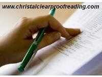 NATIONWIDE PROOFREADING SERVICE, UK-WIDE, National Coverage