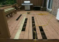 fence and deck painting and rebuild service