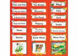 Jolly Readers (Jolly Phonics) Level 1 Complete Set: Pack of 18 Books