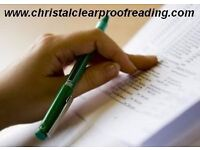 Manchester and Greater Manchester Proofreading Service: University, student, academic and business
