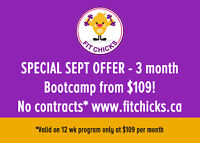 3 month Build Your Best Body Bootcamp from $109!*