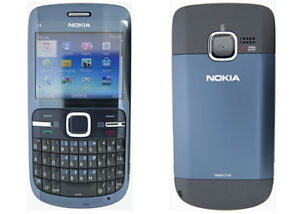 Two Brand New Blue Nokia C3