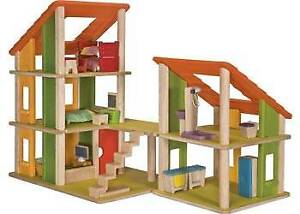 Plan Toys Dollhouse & Furniture--Made From Sustainable Rubberwood Golden Grove Tea Tree Gully Area Preview