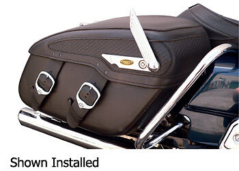 HARLEY  LOCKING SYSTEMS FOR LEATHER SADDLE BAGS ROAD KING SOFTAIL DYNA for sale  Cary