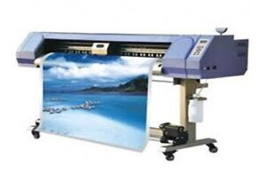 Double head outdoor DX5 eco solvent printer