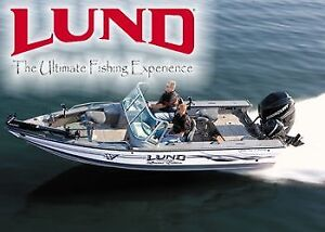 Lund boats on fall clearance in Red Deer SALE !!