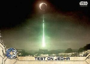 2017 Topps Star Wars Rogue ONE Series 2# 23 Test on Jedha NM -MT
