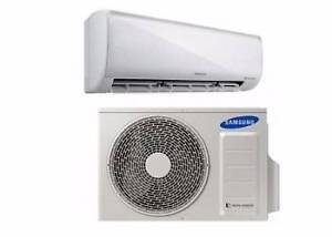 Samsung AR09KSF 2.5kw reverse cycle split system air conditioner Stafford Heights Brisbane North West Preview