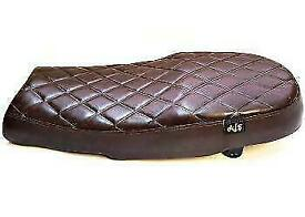 AJS Tempest Scrambler 125cc BROWN Antique Seat DISCOUNTED FREE POSTAGE