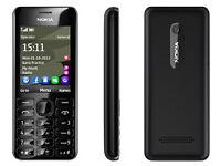 NOKIA Asha 206 (WhatsApp/MP3/1.3MP/32GB)
