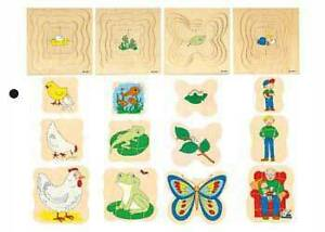 Grow Insets Puzzles—Set of 4 (Educo) Albany Creek Brisbane North East Preview