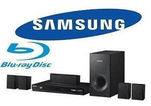 NEW SAMSUNG 5.1 HOME THEATER SYS. 1000W Home Entertainment System HT - J4100 BLU RAY MUSIC AUDIO STEREOS SPEAKERS