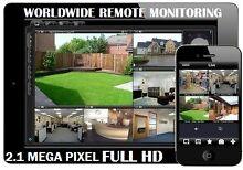4 Full HD 2.1MP Digital Cameras Complete CCTV Package Installed Melbourne CBD Melbourne City Preview