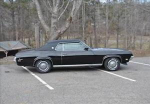 WANTED Mercury Cougar 1969