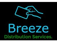Leaflet Distributors Required *Get paid CASH in hand*