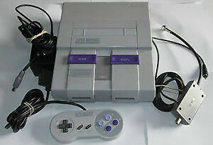 *****CONSOLE SUPER NINTENDO SNES + JEUX A VENDRE / SUPER NINTENDO SNES SYSTEM + GAMES FOR SALE*****