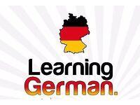German beginners class