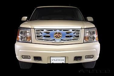 Putco 89415 Blue Flaming Inferno Stainless Steel Grille Escalade