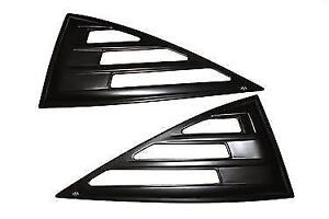 Window Louvers - Rear - Ford Ranger/Mazda B Series