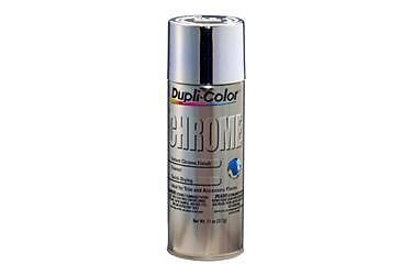 Duplicolor CS101 Chrome; Aerosol Spray Can; 11 (Chrome Spray)