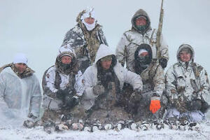 GOOSE HUNTING LATE SEASON ONTARIO