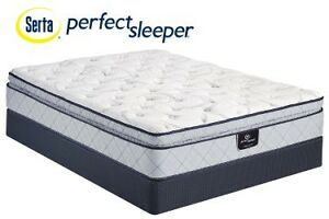 NEW SERTA FACTORY OVERSTOCK MATTRESSES, KINGS, QUEENS Boxsprings