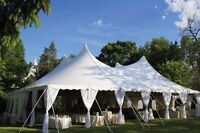 Looking for wedding tent rental