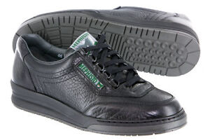 MEPHISTO MEN'S SHOES BLACK, CASUAL, LACE UP