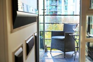 FABULOUS YALETOWN FULLY FURNISHED 1 BEDROOM,  POOL