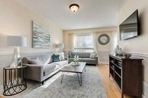 For Sale Bright, Sunlit Town Home With Beautiful Yard