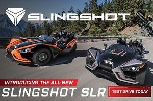 2017 Polaris SLINGSHOT SLR / 90$/sem garantie 4 ans