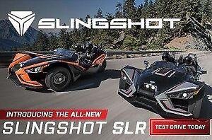 2017 POLARIS SLING SHOT SLR 3 ROUES