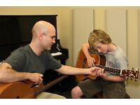 Guitar, Piano and Violin Lessons from 300 Experience Music Teachers. Bass, Drums, Saxophone, Singing