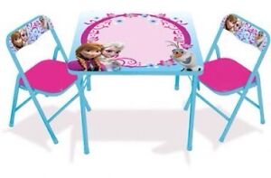 Brand New Frozen table and chairs