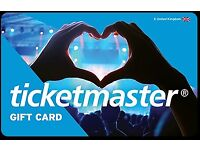 £150 Ticketmaster Gift Card - Can be used for any event
